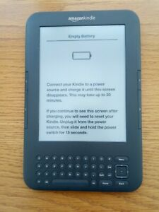 Amazon Kindle Keyboard 3rd Generation Model D00901 - GREAT CONDITION