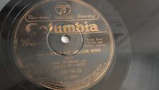 Bob Nichols & Riley Puckett 78rpm single 10-inch – Columbia #15136-D Ring Waltz