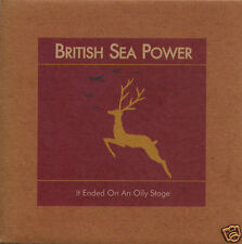 """BRITISH SEA POWER It Ended On An Oily Stage UK vinyl 7"""" NEW/UNPLAYED"""