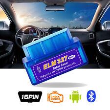 New Mini ELM327 V2.1 OBD2 II Bluetooth Diagnostic Car Auto Interface Scanner OBD