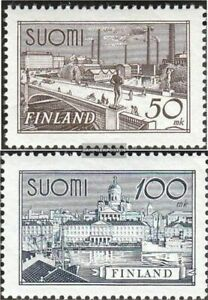 Finland 259-260 (complete issue) with hinge 1942 clear brands