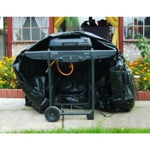 Housse Bâche Imperméable 173cm pour Grill Barbecue de Jardin Protection BBQ