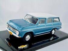 Chevrolet Veraneio S Luxe  1971   blau metallic  /    IXO / Altaya   1:43