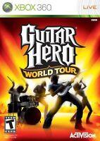 Guitar Hero: World Tour (Microsoft Xbox 360, 2008) Disc with Manual!