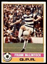 RED BACK 1977 TOPPS-FOOTBALL -#179- QPR Q.P.R FRANK MCLINTOCK
