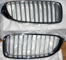 BMW Brand OEM F32 F33 F36 4 Series Modern Line Kidney Grille Pair Brand New