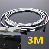 300cm Car Door Edge Scratch Guard Protector Molding Strip Roll New