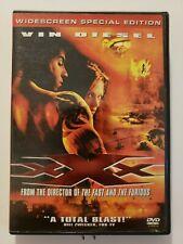 Xxx (Dvd, 2002, Widescreen Special Edition) Vin Diesel Samuel L Jackson