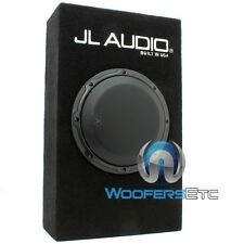 "JL AUDIO CP108LG-W3V3 8"" SINGLE 4-OHM 8W3V3-4 SUBWOOFER SPEAKER LOADED SUB BOX"