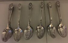 WM RODGERS SILVER PLATE PRESIDENTIAL SPOONS - Presidents 1-35