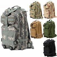 30L Military Tactical Backpack Rucksack Camping Hiking Trekking Bag Outdoor