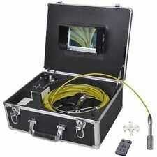 vidaXL Caméra endoscopique pour canalisation avec DVR enregistrement vidéo 30 m