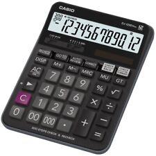 Casio DJ-120D Plus kompakter Tischrechner Check und Correct Funktion schwarz