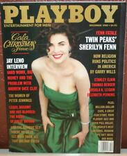 PLAYBOY ENTERTAINMENT MAGAZINE DECEMBER 1990 GALA CHRISTMAS SHERILYN FENN Pb2