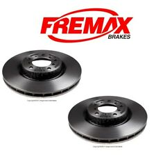 NEW BMW E46 M3 01-06 Set of Front Left & Right Disc Brake Rotors Fremax Painted