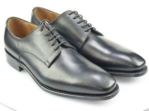 Prime Shoes Herrenschuhe Rahmengenäht Echtleder Plain Derby A281 calf black Gr.8