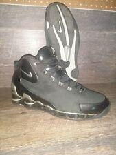 Nike Shox VC3 Men's Size 10.5 Black Suede Patent Leather 307111-001 Vintage 2003