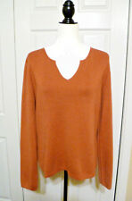 Hilard & Hanson Rust Sweater - XL