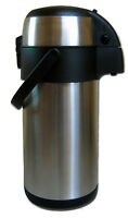 Airpot 3L Edelstahl Pumpkanne Isolierkanne Thermoskanne Kaffeekanne Teekanne