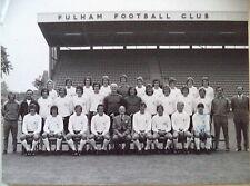 FULHAM F.C 1973-74 ORIGINAL FOOTBALL TEAM PHOTOGRAPH