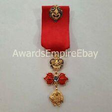 Austria Coat badge of the Order of the Golden Fleece with 24 mm ribbon / replica