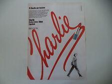 advertising Pubblicità 1980 ROSSETTO CHARLIE REVLON