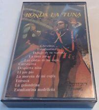 C-269 RONDA LA TUNA Tape Cassette TUNA UNIVERSITARIA DE BARCELONA TUNA DE LA FAC