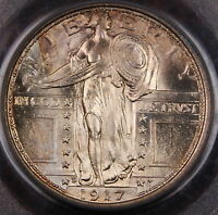 1917-S Standing Liberty Quarter PCGS MS-65+ FH Full Head Type 1 *Superb Gem*