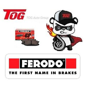 FERODO GP2 FRONT BRAKE PAD HONDA CIVIC EG EK CRX JAZZ 1.3 CONCERTO GEMINI DB1262