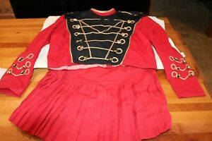VINTAGE GIRLS MARCHING BAND UNIFORM STITCHED AND STYLED BY NADINE CALIFORNIA