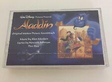 Walt Disney Aladdin Audio Cassette Tape