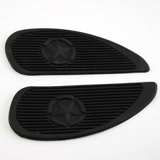Motorcycle Cafe Racer Gas Fuel tank Rubber Stickers Pad Protector sheath 3M