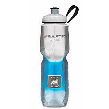 Polar Bottle 24oz Insulated Travel Drink Water Bottle BPA FREE - BLUE FADE 0023