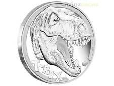 5 $ Dollar T-Rex Tyrannosaurus Rex Tuvalu 5 oz Unzen Silber PP 2017