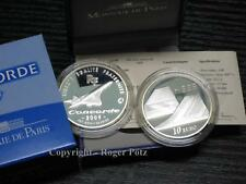 10 Euro 2009 Concorde Silber PP