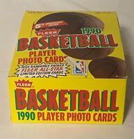 1990-91 Fleer Basketball Card Wax 36 Packs  (1) Box NBA Michael Jordan 5th Year