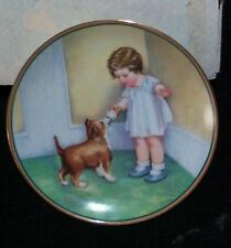 "Hamilton Collection plate ""The Reward"" Mint Vintage (R15100101) with Papers"