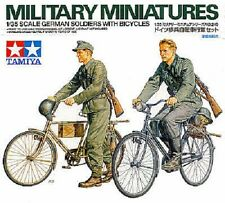 Tamiya 35240 1/35 Scale Military Model Kit WWII German Soldiers w/Bicycles