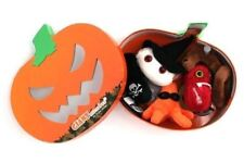 GIANT MICROBE 5 PLUSH SET EBOLA WITCH ANTHRAX BLACK DEATH HALLOWEEN PUMPKIN BOX