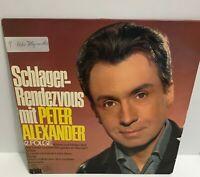 Peter Alexander - Schlager Rendezvous 2.Folge - LP ,Album / Vinyl / Schallplatte