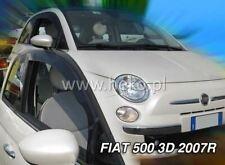 2 Deflettori Aria Antiturbo FIAT 500 2007 in poi 3 porte