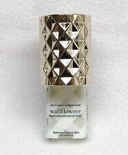 Bath & Body Works Wallflower DIAMOND WEAVE Geometric Diffuser Unit Plug Holder