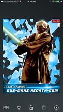 Topps Star Wars Card Trader FAN'S CHOICE Winner Que-Mars Redath Gom Digital