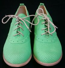 Refresh by Beston 'ALEXIS-01′ Oxford Shoes for Women green size 7