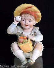 Rare Antique Decorative Porcelain Child Figurine In Good Condition. I59-18