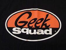 GEEK SQUAD BEST BUY Computer Tech Black T Shirt Size XL NWOT