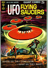 UFO Flying Saucers (Gold Key) #1 (1968) Condition – (VFN+) VERY FINE +