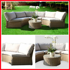 NEW! Wicker Outdoor Furniture Set Coffee Table Lounge Setting Garden Backyard