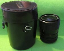 "Marexar-CX Zoom Lens 1:35-45 1=35-70mm Multi-Coated & 4.75""x 3.5"" Black Case"