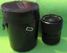 "Marexar-CX Zoom Lens 1:35-45 1=35-70mm Multi-Coated & 4.75""x 3.5"" Black Case"
